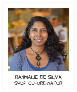 Ranmale De Silva - Shop Co-ordinator
