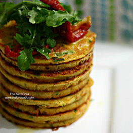 vegan-recipe/tomato-chive-and-chickpea-pancakes